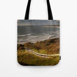 Rhossili bay south Wales Tote Bag