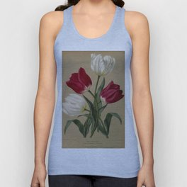 Arendsen, Arentine H. (1836-1915) - Haarlem's Flora 1872 - Single Early Tulips 2 Unisex Tank Top