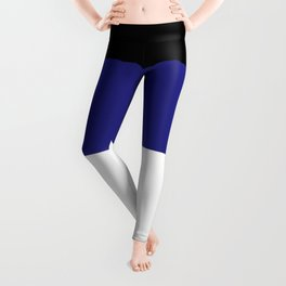 Leather Pride Flag Leggings