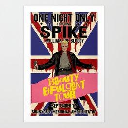 Spike: Beauty Effulgent Tour Art Print