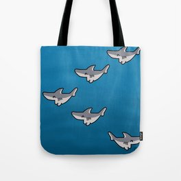 Little sharks Tote Bag