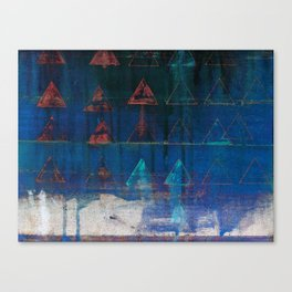 ghosts in water Canvas Print