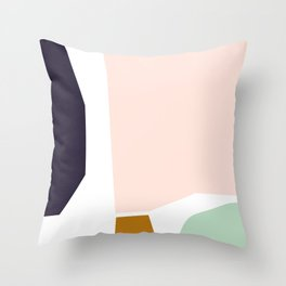 Strong Neutral Throw Pillow