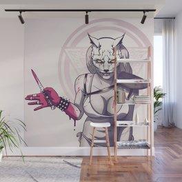 Raccoon Nook Wall Mural
