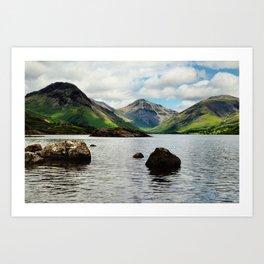 Wastwater Lake District Art Print