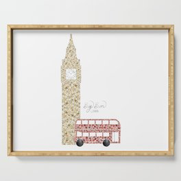 Big Ben & Bus Serving Tray