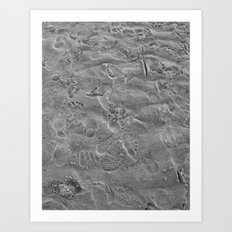 we all leave our mark. Art Print