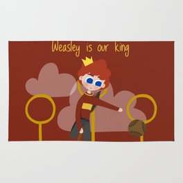 Weasley is our king Rug