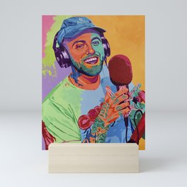 """Easy Mac"" Mini Art Print"