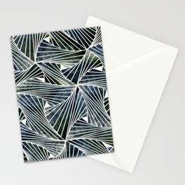 Dark Acquamesh Stationery Cards
