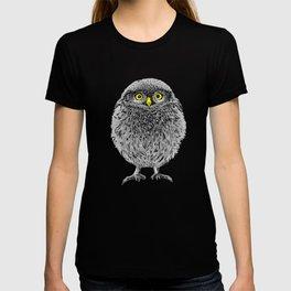 Fluffy cute baby owl T-shirt