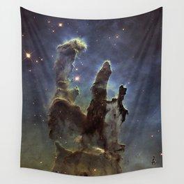 Pillars of Creation (Eagle Nebula) Wall Tapestry