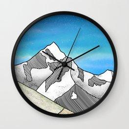 Mt Everest Wall Clock