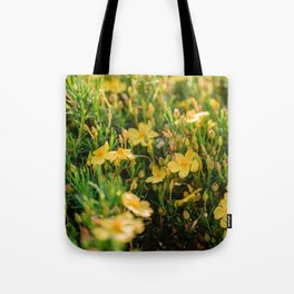 Tiny Yellow Flowers Tote Bag