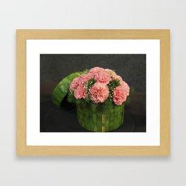 Box of Carnations Framed Art Print