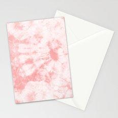Tie Dye 3 Rose Stationery Cards