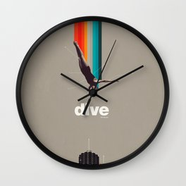 Dive Into My Soul Wall Clock