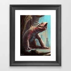 Dino redesign Framed Art Print