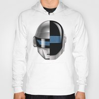 tron Hoodies featuring Daft Punk - Tron Legacy by Hayes Johnson