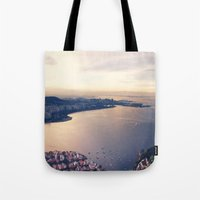 rio Tote Bags featuring Rio by Art That's Alive
