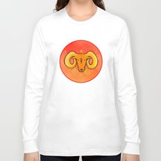 Year of the Ram (distressed) Long Sleeve T-shirt