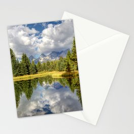 The Grand Tetons Panorama Stationery Cards