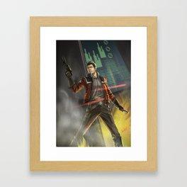 Agent Shan Framed Art Print