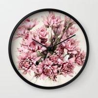 blush Wall Clocks featuring Blush by  Robin-Lee