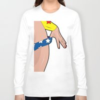 comics Long Sleeve T-shirts featuring sexy comics  by mark ashkenazi