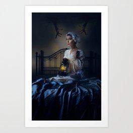 Little Night Fright Art Print