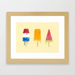 Cool Down Framed Art Print