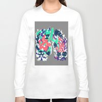 lungs Long Sleeve T-shirts featuring Lungs by LAM Hamilton