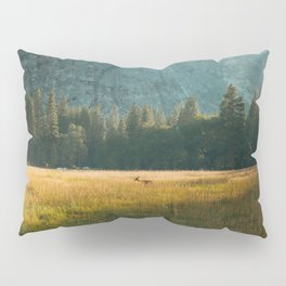 Meadow Sunset in Yosemite Pillow Sham