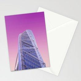 Malmö City Modern Skyscraper,Sweden Stationery Cards