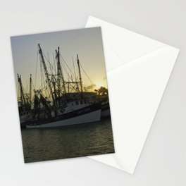 Shrimp boat 2 Stationery Cards