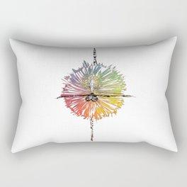 Ballet dancer color Rectangular Pillow