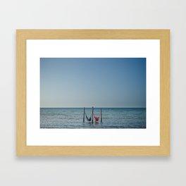 Holbox Framed Art Print