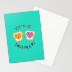 Sweet Lovers Stationery Cards