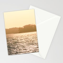Clarks Hill Lake Sunset Stationery Cards