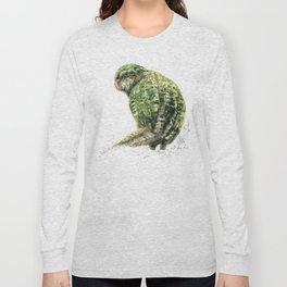 Mr Kākāpō Long Sleeve T-shirt