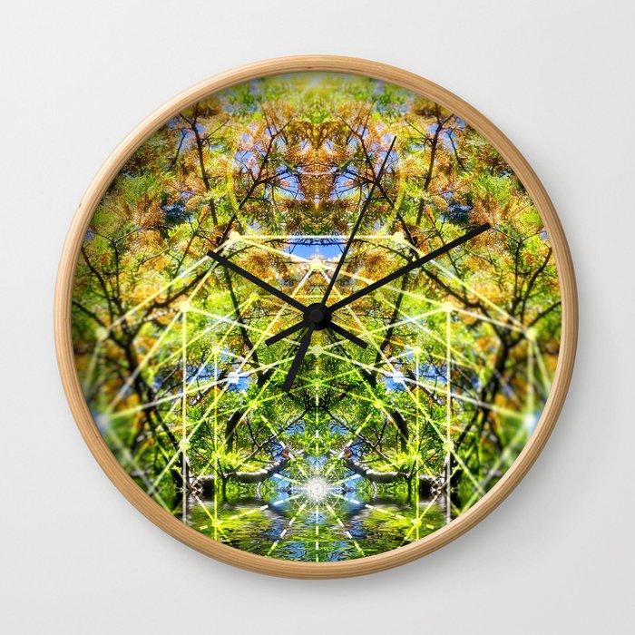 GeoBotanica V2 Wall Clock