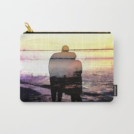 Love in the Sunset Carry-All Pouch