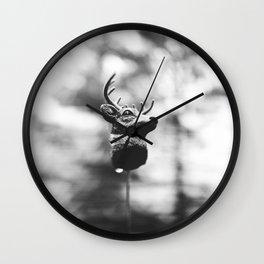 Dear Deer Head Wall Clock
