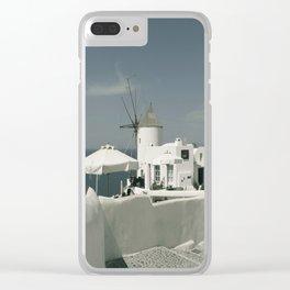 Santorini, Greece 8 Clear iPhone Case