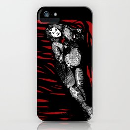 Lilith in red iPhone Case
