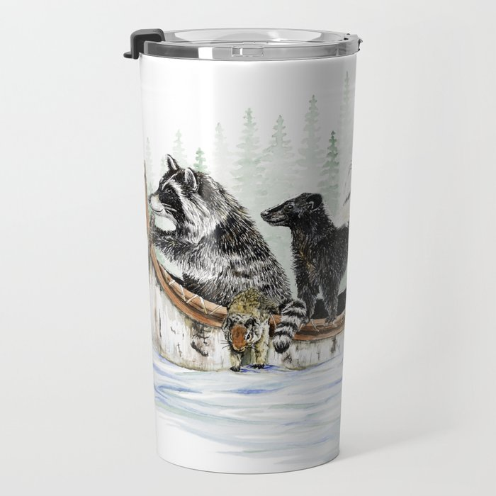 Critter Canoe Travel Mug
