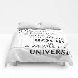 Classy HOOD Universe Comforters
