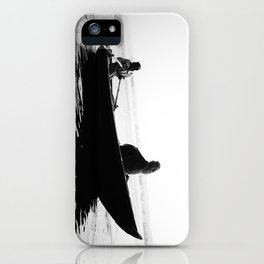 In search of peace, Varanasi. INDIA iPhone Case
