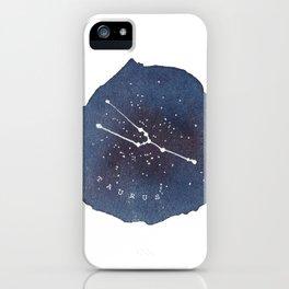taurus constellation zodiac iPhone Case