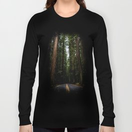 The Road to Wisdom - Nature Photography Long Sleeve T-shirt